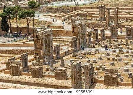 Persepolis ancient ruins