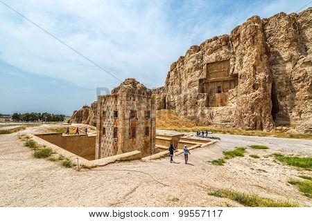 Naqsh-e Rustam ancient necropolis