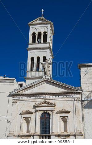 SS. Redentore Church. Ruvo di Puglia. Apulia.