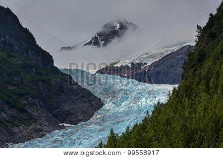 Bear glacier near Stewart,Canada