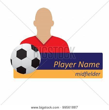 soccer player avatar