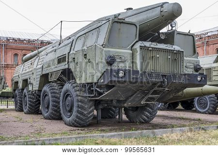 9P120 Launcher With A Missile 9M76 Missile Complex 9K76