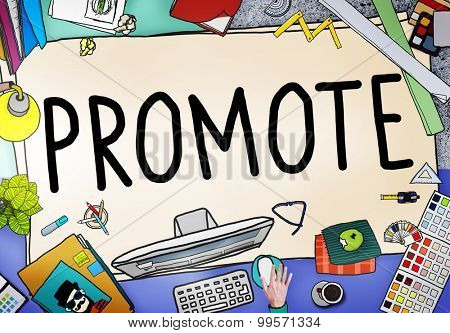 Promote Marketing Plan Commercial Promotion Concept