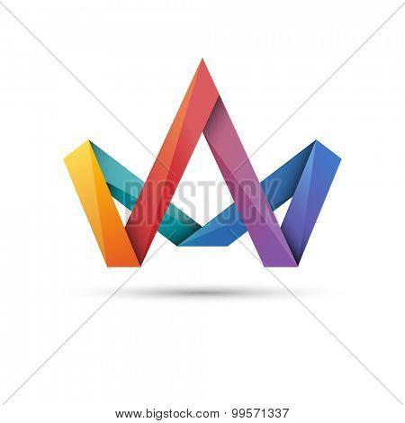 Crown symbol, eps10 vector