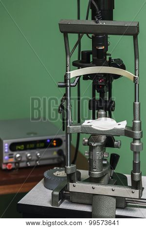 Medical Optometrist Equipment Used For  Eye Exams