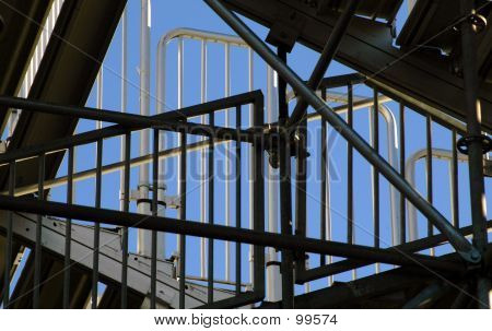 Bleachers Stairwell