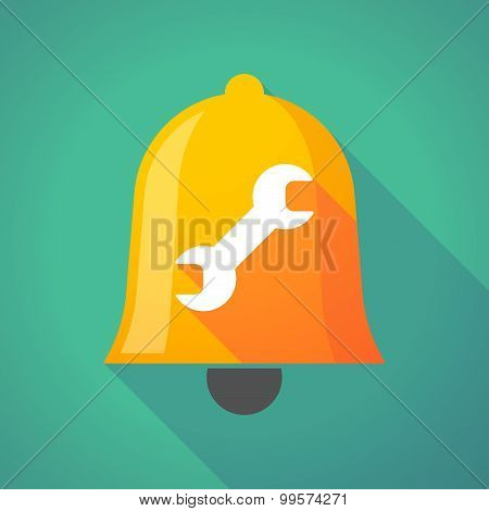 Bell Icon With A Wrench