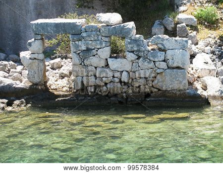 Ancient structure in Kemer. Turkey