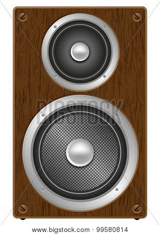Two Way Audio Speaker, Front View
