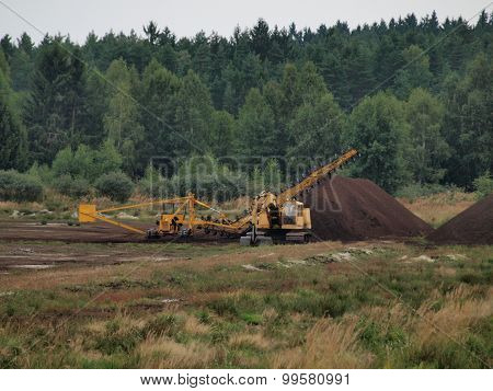 Peat Extraction, Southern Bohemia