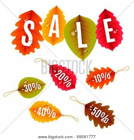 Autumn Sale Tags