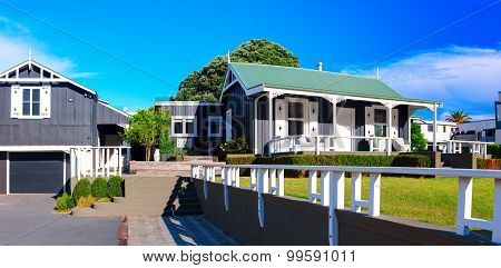 The Adams Cottage in Adams Avenue is the oldest building in Mount Maunganui. New Zealand