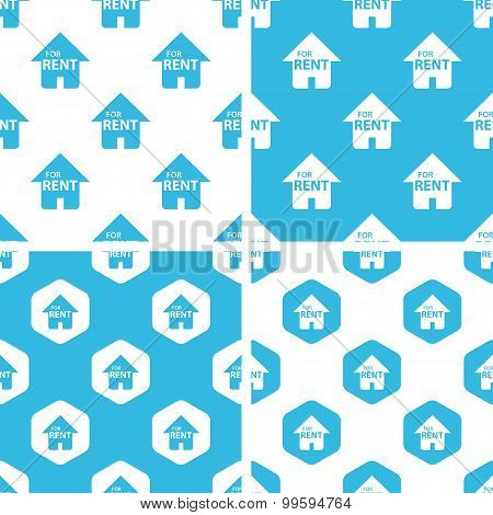 Rental house patterns set