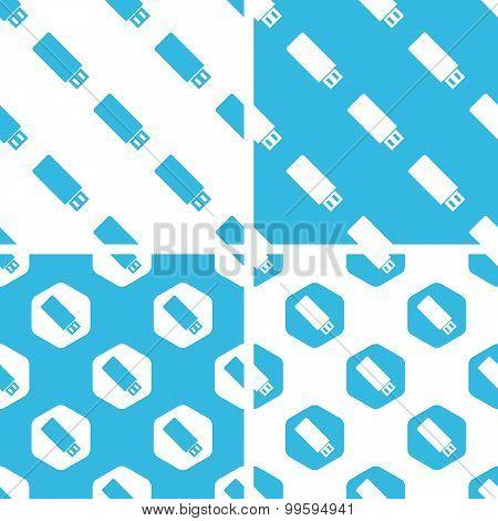 USB stick patterns set
