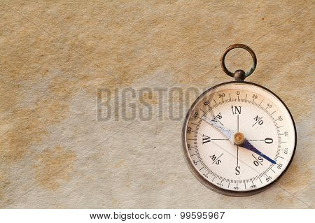 Vintage Exploration Compass, Navigator.