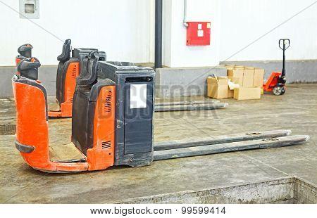 Rider Pallet Truck