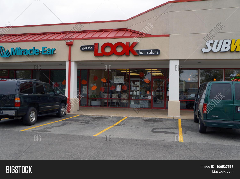 Get The Look Hair Salon Stock Photo  Stock Images Bigstock - The look hair salon
