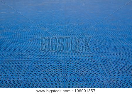 Patterned Plastic To Prevent Slip And Fall.