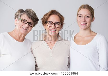 Female Multi Generation Portrait