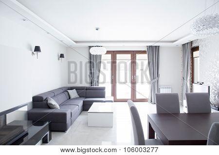 White Bright Room