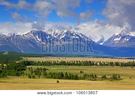 beautiful landscape in Altai mountains, Russia