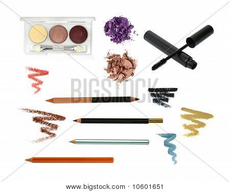 Decorative Cosmetic Products For Eye Makeup