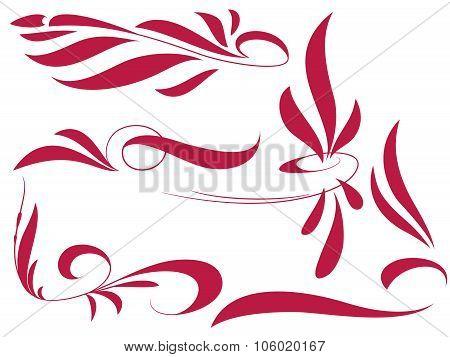 pinstripe style set