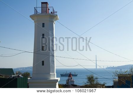 The Lighthouse On The Shore
