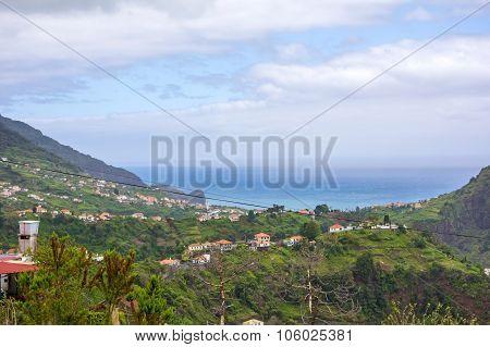 View Over Porto Da Cruz, Madeira