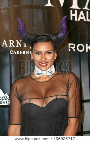 LOS ANGELES - OCT 24:  Laura Govan at the MAXIM Magazine's Official Halloween Party at the Private Estate on October 24, 2015 in Beverly Hills, CA