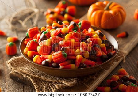 Festive Sugary Halloween Candy