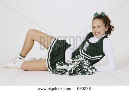Preteen Cheerleader