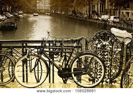 City Of Bikes - Amsterdam, Holland.