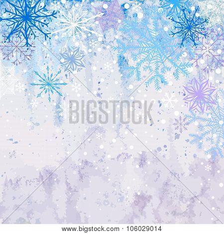 Winter snowstorm background