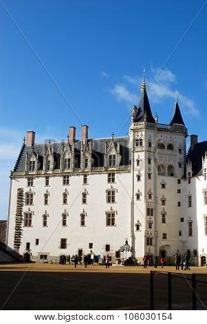 White Castle In Nantes