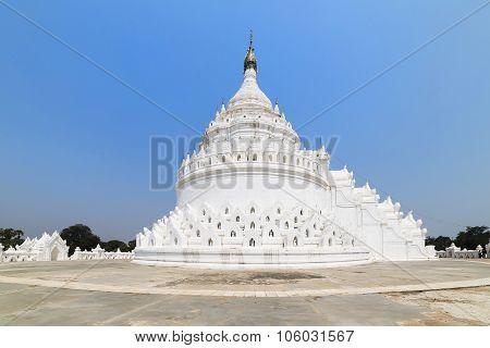 The White Pagoda Of Hsinbyume