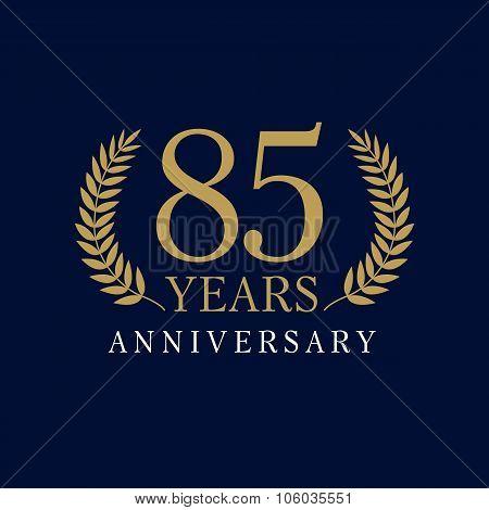85 anniversary royal logo
