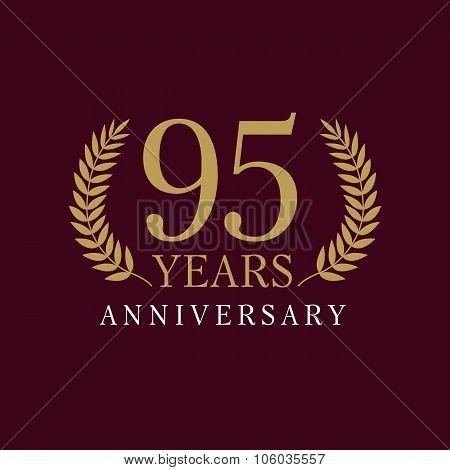 95 anniversary royal logo