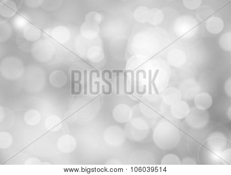 Abstract Colorful Photo Of Light And Glitter Bokeh Lights Background.
