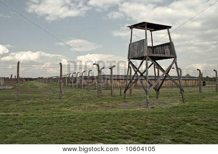 Campo de concentração Auschwitz Birkenau.