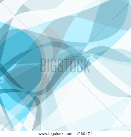 Abstract Blue Waves