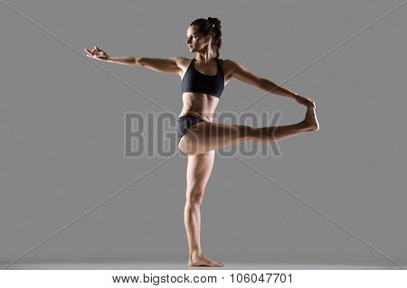 Revolved Hand To Big Toe Yoga Pose