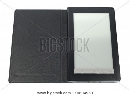 Black E-book With Case