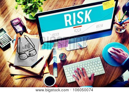 Risk Dangerous Hazzard Gamble Unsure Concept