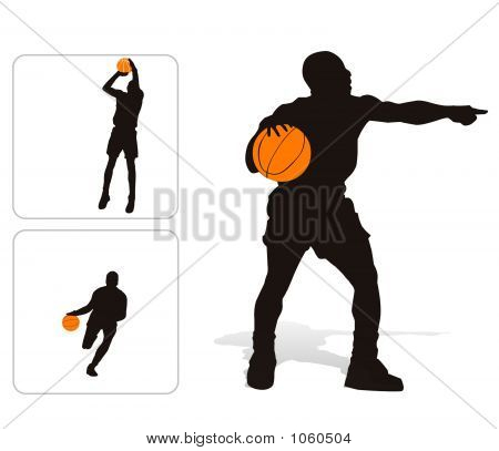 Basket Player Set