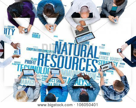 Natural Resources Conservation Environmental Ecology Concept