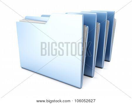 Row Of Folders