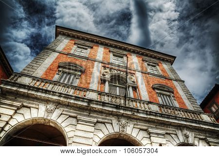 Beautiful Building In Piazza Garibaldi