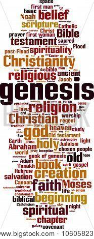 Genesis Word Cloud