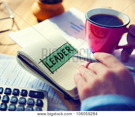 Leader Leadership Lead Manager Management Concept